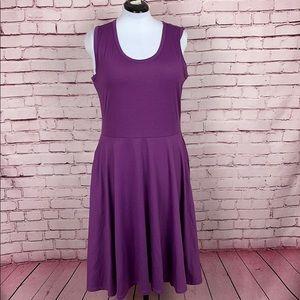 LuLaRoe Dress w/ Pockets Size Large